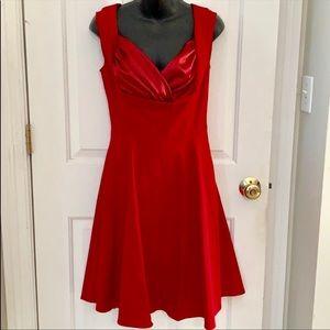 Dresses & Skirts - Vintage Inspired red dress